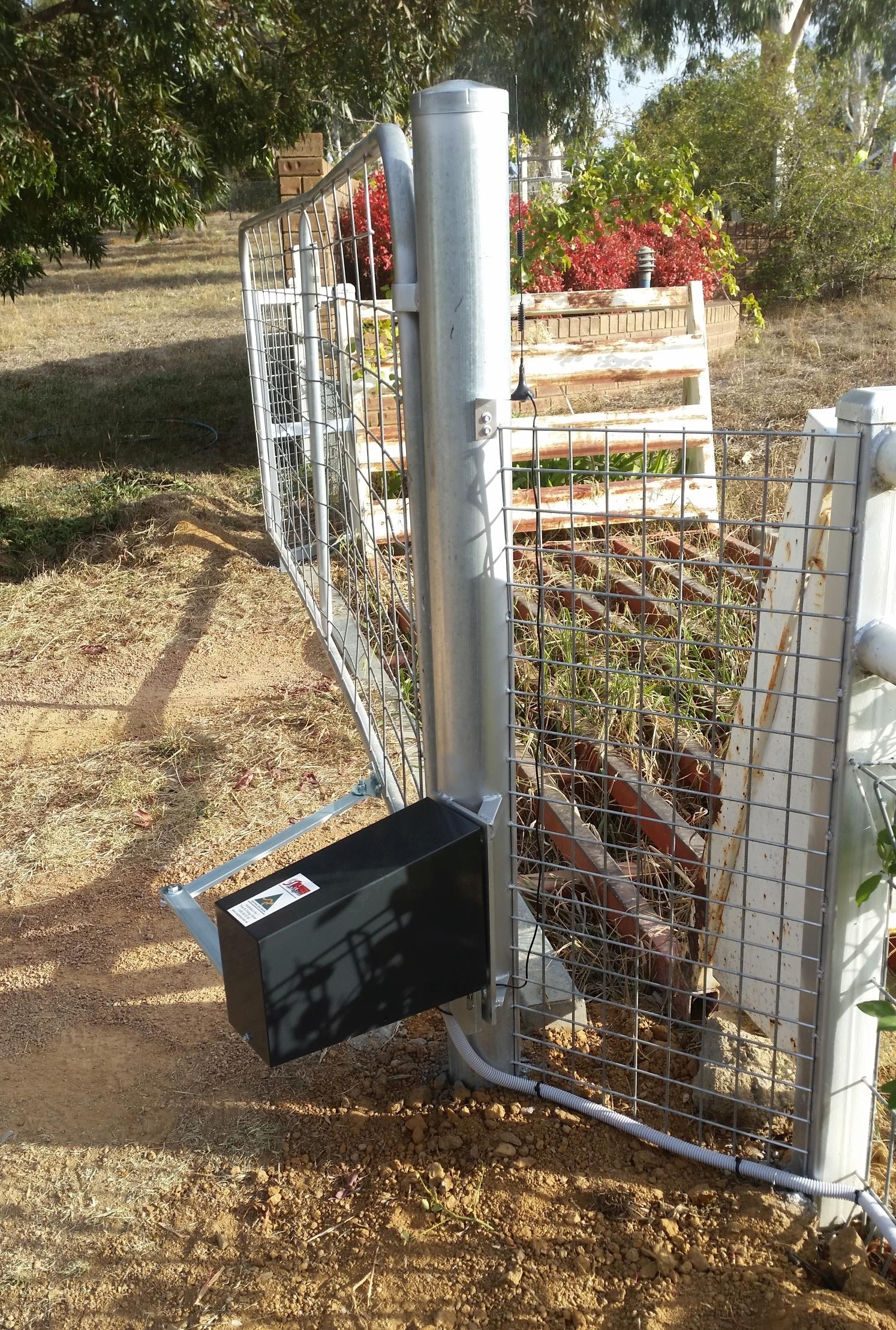 Stock Grid Gate Both Automate It Sungate Australia