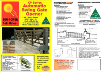 XP Series Swing Gate Opener