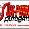Sun-Power Automatic Gate Sign