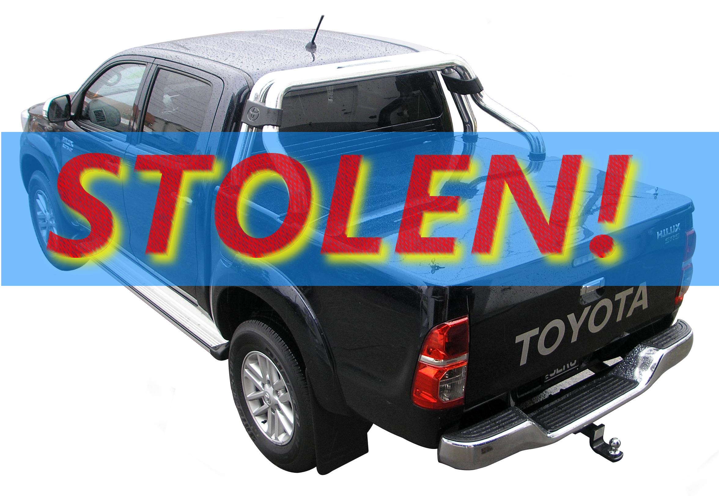 Stolen Toyota SR5 Hilux Twin Cab Ute