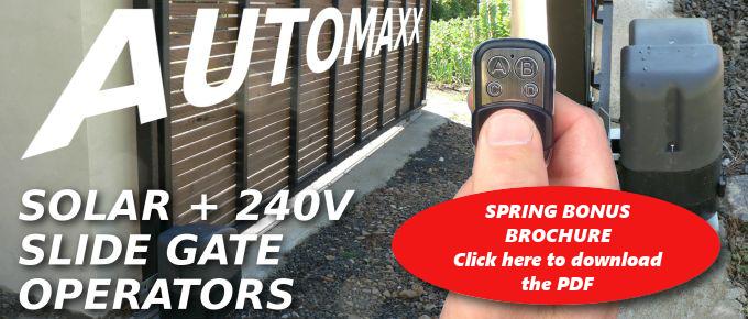 Automaxx 500 Spring BONUS offer