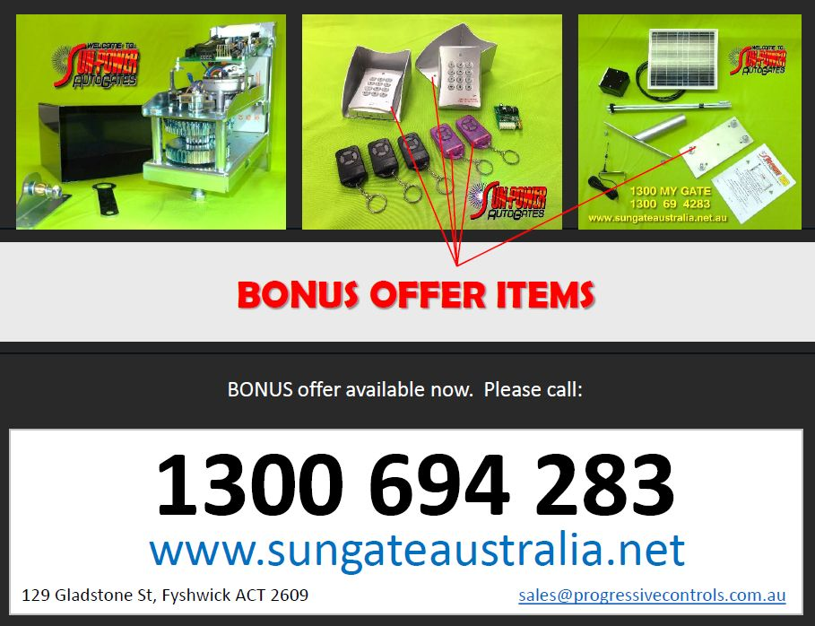 BONUS OFFER - CLICK TO VIEW BROCHURE