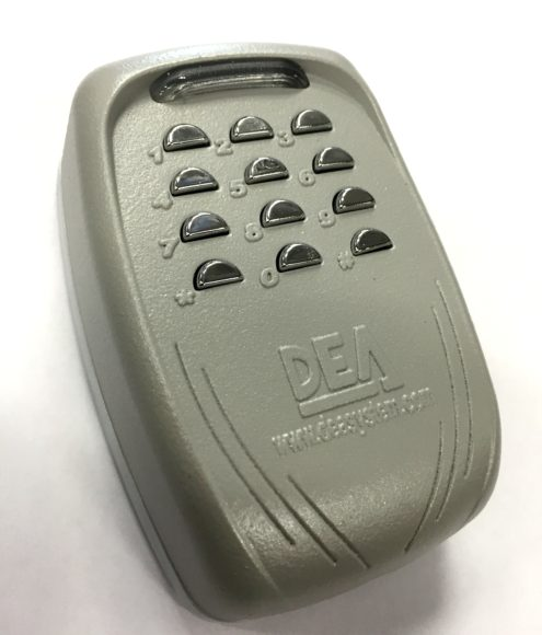DEA DigiRAD Wireless Digital Keypad Vandal Resistant Weather Resistant