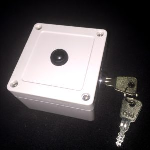 Push Button Transmitter (with 2-position Key-Switch) for XP Gate Operators - Weather Resistant